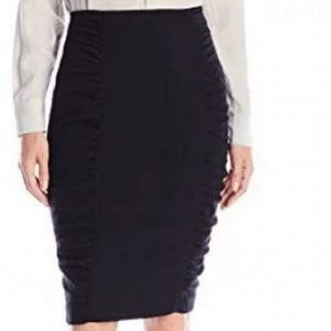 Nanette Lepore fierce fitted high waist skirt